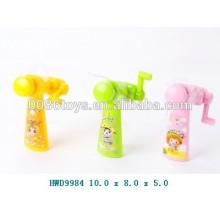 Plastikmini-Förderung-Spielzeug-Ventilator, manueller Handsteuerungsventilator, Kind-Spielzeug-Ventilator