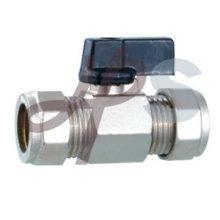 Mini válvula de esfera de compressão