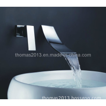 New Brass Single Lever in-Wall Waterfall Bathtub Mixer (Q30192W)
