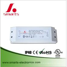 CE ROHS UL dali controlador dimmable 350mA 10w LED con tamaño pequeño