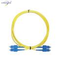 SC / UPC sc-sc Upc Patch cordon 2.0mm 3.0mm Pvc Lszh seul mode LSZH / PVC veste prix usine Chine fournisseur