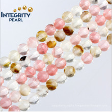 New Arrival Natural Quartz Loose Strand Watermelon Crystal Beads Set