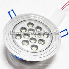 shenzhen led lighting manufacturer 100-240v 220v 12w led downlight housing with CE&RoHS