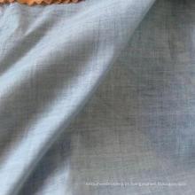 Casaco de algodão como tecido de linho