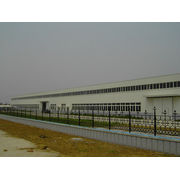 Z Section Purlin Steel Structure Warehouse With Corrugated Steel Panels