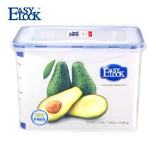 Contenedores de almacenamiento de alimentos de policarbonato de 1 galón con tapa