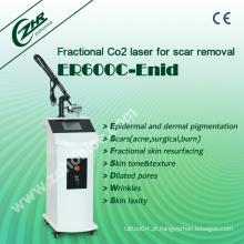 Er600c Super Vaginal Tightening CO2 fracionária pele RF Whiten equipamentos