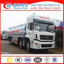 Dongfeng Kinland 8 * 4 Laufwerk Typ 32000 Liter Brennstoff Bowser