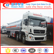 Dongfeng Kinland 8 * 4 Tipo de Impulsión 32000 Litro Combustible Bowser