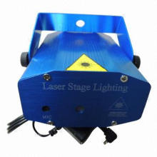 Stage lighting laser projectors for DJ show disco KTV party club mini R&G