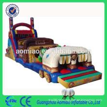 Diversão inflável obstáculo cursos comercial infantis obstáculo curso à venda