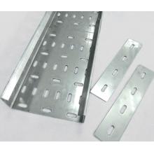 Tipo de perfuração de aço de liga de alumínio de bandeja de cabo