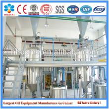 Máquina de processamento de óleo de gérmen de milho, linha de produção de refino de óleo de milho bruto