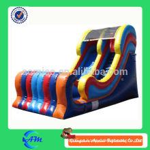 Diapositiva inflable de la diapositiva inflable de la mejor calidad modificada para requisitos particulares colorida para la venta