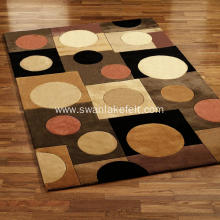 Customized Size Printed Carpets For Home