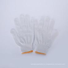 Трикотажные хлопчатобумажные перчатки/строку трикотажные перчатки