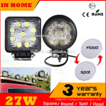 Hot Selling Emark Car led Work light, 27W Truck SUV ATV Offroad Led Work Light