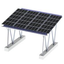 Sistema de aparcamiento Montaje solar Soporte de montaje en panel solar