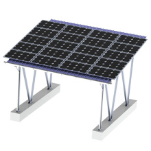 Off Grid Aluminum Carport Solar System 150KW Solar Carport