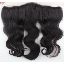 One Donor Virgin Hair Weft Large Stock virgin hair silk top closure lace frontal