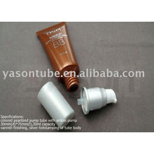 Pump Plastic Tube For cream