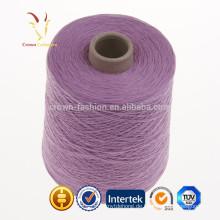 Kaschmir-Baumwollgarn, das Garn-Importeur näht