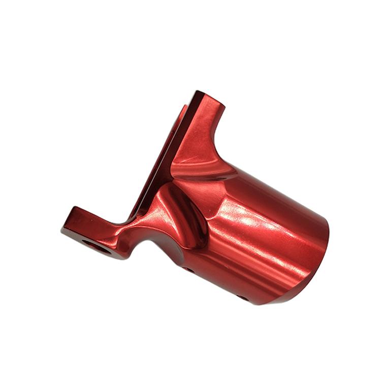Red Anodized Aluminum Turning Rotary Tattoo Machine 1