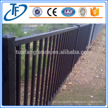 Pickets 25*25mm square*1.2mm wall thickness heavy duty security garrison fence