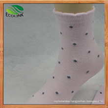 Eco-Friendly Bamboo Fiber Middle Socks for Women