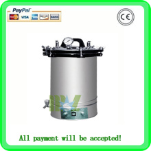 (MSLPS02)New automatic portable stainless steel sterilizer/vertical autoclave sterilizer