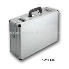 сильный & портативных алюминиевых видных чемодан из Китая завод Горячие продажи