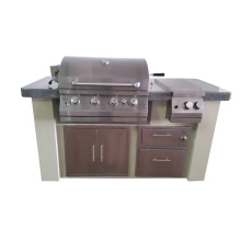 CSA Approved Outdoor Kitchen BBQ Island for North America Market