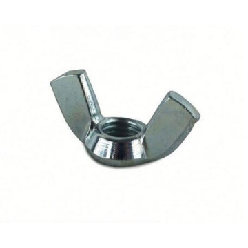 Factory Customized Fastener Zinc Black Wing Nut