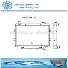 Lexus partes de todos los radiadores de aluminio para Lexus LX450