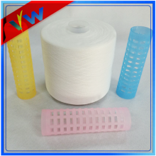 Semi dull 100% polyester yarn 42/2