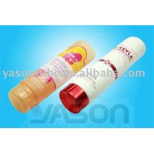 Recipiente de embalagem de plástico tubo de creme dental