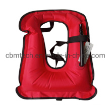 Top Quality Inflatable Lifejackets Drifing and Fishing Life Vest Rescue CO2 Lifejackets
