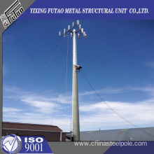 30M Monopole Towers With Galvanized Slip Joint