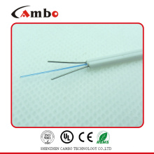 FTTH Indoor Drop G657A Glasfaserkabel, G657A Faserkabel mit Stahl Stärke Mitglied