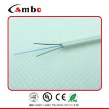 FTTH крытый волоконно-оптический кабель G657A, волоконный кабель G657A со стальным прочным элементом