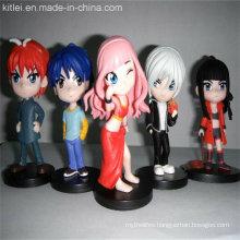 China Novely Cartoon Figure Design PVC Plastic Figure Toy