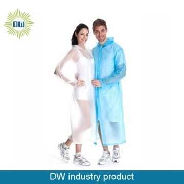 FACTORY WHOLESALE LONG PVC RAINCOAT