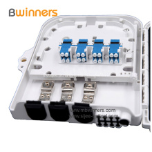 8 caixas da fuga da fibra do estojo compacto do SC LC FTTx dos núcleos