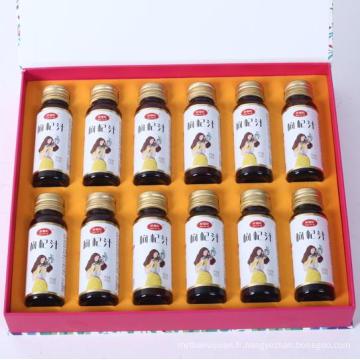 Concentré de jus de Goji jus de goji de baies de goji pour la santé