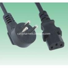 Israel Plug to Iec320 C13 Power Cord
