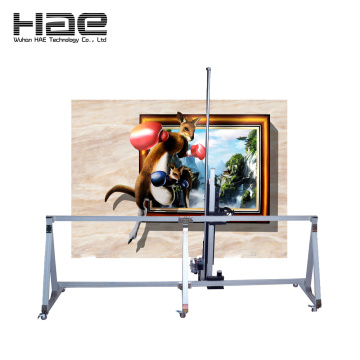 CE Certificate CMYK Multicolor Wall Printing Machine