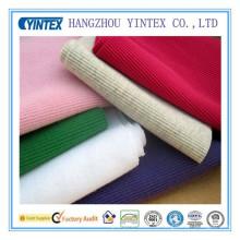 Tela de algodón de lujo de la manera suave de alta calidad de Yintex