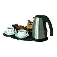 Electric tea kettle tray set
