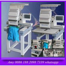 2017 New Single Head Dahao Computer System Embroidery Machine with Wilcom Software Freely