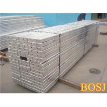 Prancha de andaimes de metal de alta qualidade com gancho para construção